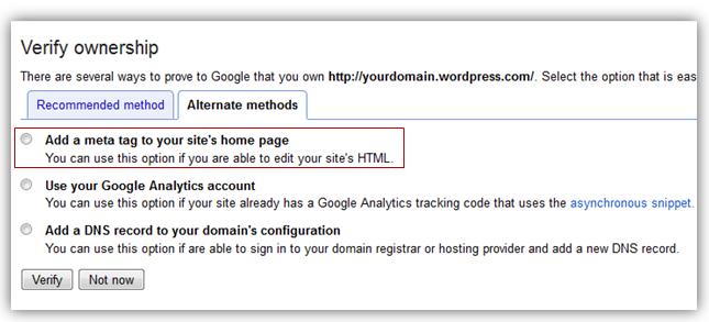how to add google verification file on wordpress